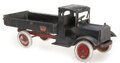 Antiques:Toys, Two Large Pressed Steel Toy Trucks, by Steelcraft and Keystone.... (Total: 2 Items)
