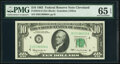 Fr. 2016-D $10 1963 Federal Reserve Note. PMG Gem Uncirculated 65 EPQ