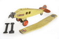 Antiques:Toys, Lot of Three Keystone Pressed Steel Toy Airplanes.... (Total: 3 Items)