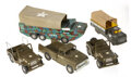 Antiques:Toys, Nice Military Lot of Army Vehicles.... (Total: 6 Items)