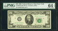 Small Size:Federal Reserve Notes, Fr. 2065-B $20 1963 Federal Reserve Note. PMG Choice Uncirculated 64 EPQ.. ...