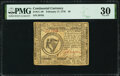 Colonial Notes:Continental Congress Issues, Continental Currency February 17, 1776 $8 PMG Very Fine 30.. ...