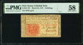 Colonial Notes:New Jersey, New Jersey March 25, 1776 6s PMG Choice About Unc 58.. ...