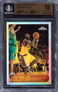 Basketball Cards:Singles (1980-Now), 1996-97 Topps Chrome Refractors Kobe Bryant Rookie #138 BGS Pristine 10....