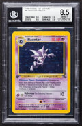 Memorabilia:Trading Cards, Pokémon Haunter #6 First Edition Fossil Set Rare Hologram Trading Card (Wizards of the Coast, 1999) BGS NM-MT+ 8.5....