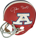 Football Collectibles:Others, Early 1970's Jake Scott Game Worn & Signed Pro Bowl Helmet from The Jake Scott Collection. ...