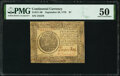Colonial Notes:Continental Congress Issues, Continental Currency September 26, 1778 $7 PMG About Uncirculated 50.. ...