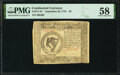 Colonial Notes:Continental Congress Issues, Continental Currency September 26, 1778 $8 PMG Choice About Unc 58.. ...