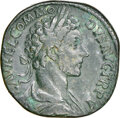 Ancients:Roman Imperial, Commodus (AD 177-192). AE Sestertius...