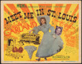 """Movie Posters:Musical, Meet Me in St. Louis (MGM, 1944). Very Fine-. Title Lobby Card (11"""" X 14""""). Musical.. ..."""