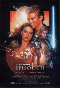"""Star Wars: Episode II - Attack of the Clones (20th Century Fox, 2002). Rolled, Very Fine+. One Sheet (27"""" X 40""""..."""
