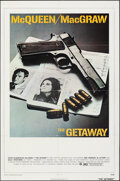 """Movie Posters:Action, The Getaway (National General, 1972). Folded, Very Fine-. One Sheet (27"""" X 41""""). Action.. ..."""