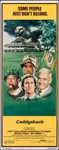 """Movie Posters:Comedy, Caddyshack (Orion, 1980). Rolled, Very Fine. Insert (14"""" X 36""""). Comedy.. ..."""