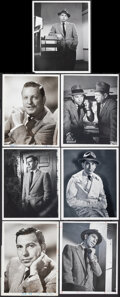 """Movie Posters:Crime, Dragnet (NBC, 1951-1959). Very Fine-. Television Photos (17) (7"""" X 9,"""" 7.25"""" X 9.25"""" & 8.25"""" X 10""""). Crime.. ... (Total: 17 Items)"""