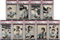 Autographs:Sports Cards, 1953 Bowman Black & White Baseball Complete Set (64) With 40 Signed Cards!...