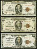 Fr. 1890-G (2); I $100 1929 Federal Reserve Bank Notes. Very Fine or Better
