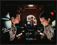 """2001: A Space Odyssey (1968). Very Fine/Near Mint. Signed Convention Photo (11"""" X 14""""). Science Fiction"""