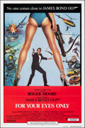 """Movie Posters:James Bond, For Your Eyes Only (United Artists, 1981). Folded, Very Fine. International One Sheet (27"""" X 41"""") Bryan Bysouth Artwork. Jam..."""