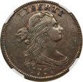 Large Cents, 1797 1C Reverse of 1795, Gripped Edge, S-120b, B-2b, R.2, XF45 NGC....