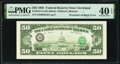 Third Printing on Back Error Fr. 2125-D $50 1993 Federal Reserve Note. PMG Extremely Fine 40 EPQ
