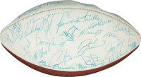 1974 Miami Dolphins Vintage Team Signed Football from the Jake Scott Collection