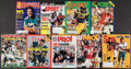 Football Collectibles:Publications, 1977-99 Football Hall of Famers & Stars Magazines Lot of 21....
