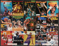 """Basketball Collectibles:Publications, 1970's-2000's Basketball Hall of Famers & Stars """"Sports Illustrated"""" Lot of 54...."""