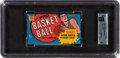Basketball Cards:Unopened Packs/Display Boxes, 1970 Topps Basketball Unopened Wax Pack (2nd Series) GAI NM-MT 8. ...