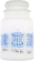 Political:3D & Other Display (1896-present), John F. Kennedy: Apothecary Candy Jar White House Gift....