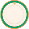 Political:3D & Other Display (1896-present), Jimmy Carter: White House China Dinner Plate....