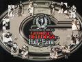 Football Collectibles:Others, 2000's Georgia Bulldogs Hall of Fame Signed Display from The Jake Scott Collection. ...