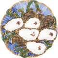 Political:3D & Other Display (pre-1896), Rutherford B. Hayes: White House China Oyster Plate Design....