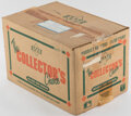 Baseball Cards:Unopened Packs/Display Boxes, 1989 Upper Deck Baseball High Numbers Case with Twenty 36-Count Boxes. ...