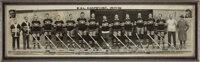 1929-30 Montreal Canadiens Team Signed Panoramic Photograph--Stanley Cup Champions!
