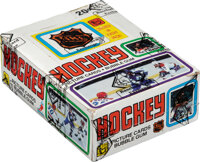 1979 Topps Hockey Wax Box With 36 Unopened Packs - Gretzky Rookie Year!