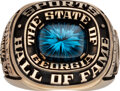 Football Collectibles:Others, 1986 Georgia Sports Hall of Fame Ring Presented to Jake Scott from The Jake Scott Collection....