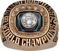 Football Collectibles:Others, 1972 Miami Dolphins Super Bowl VII Championship Ring Presented to Safety Jake Scott from The Jake Scott Collection....