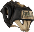 Boxing Collectibles:Memorabilia, 1978 Muhammad Ali Headgear Used in Training for Ali-Spinks II Fight....