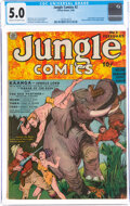 Golden Age (1938-1955):Adventure, Jungle Comics #2 (Fiction House, 1940) CGC VG/FN 5.0 Cream to off-white pages....