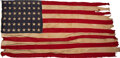 Miscellaneous:Ephemera, US 48-Star Flag Flown Over the Capitol on July 4, 1912....