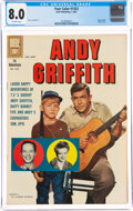 Silver Age (1956-1969):Humor, Four Color #1252 The Andy Griffith Show (Dell, 1962) CGC VF 8.0 Off-white pages....