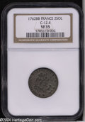 Colonials: , 1762-BB French Colonies Sou Marque VF35 NGC. C-12.4....