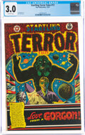 Golden Age (1938-1955):Horror, Startling Terror Tales #13 (Star Publications, 1952) CGC GD/VG 3.0 Off-white pages....