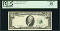 Error Notes:Foldovers, Foldover Error Fr. 2025-B $10 1981 Federal Reserve Note. PCGS Extremely Fine 40.. ...