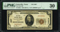 Gatesville, TX - $20 1929 Ty. 1 The First National Bank Ch. # 4097 PMG Very Fine 30