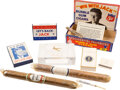 Political:3D & Other Display (1896-present), John F. Kennedy: Tobacco and Cigarette collection including a rare Cigarette Holder....