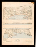 Military & Patriotic:WWII, [D-Day Invasion]: August 1944 Allied Landing Map....
