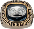 Football Collectibles:Others, 1973 Miami Dolphins Super Bowl VIII Championship Ring....