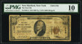 National Bank Notes:New York, New Hartford, NY - $10 1929 Ty. 2 The First National Bank Ch. # 11785 PMG Very Good 10.. ...