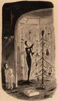 Paintings, Charles Addams (American, 1912-1988) The Add...